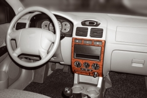 Kia Rio Mk1 Dash Trim Kit 3M 3D 6-Parts