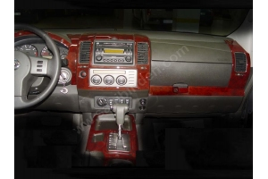 Nissan Navara D40 Dash Trim Kit 3M 3D 16-Parts