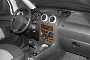 Peugeot 1007  Dash Trim Kit 3M 3D 2-Parts