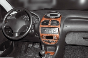 Peugeot 206  Dash Trim Kit 3M 3D 8-Parts
