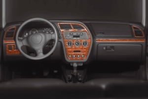 Peugeot 306  Dash Trim Kit 3M 3D 13-Parts