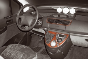 Peugeot 807  Dash Trim Kit 3M 3D 4-Parts