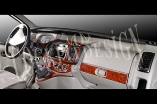 Renault Trafic  Dash Trim Kit 3M 3D 17-Parts