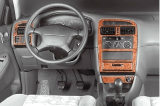 Toyota Avensis Mk1 T22 10.97 -12.00 Dash Trim Kit 3M 3D 9-Parts
