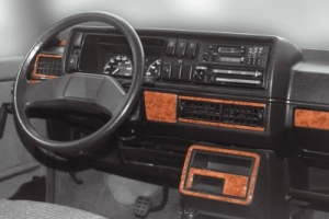 VW Golf Mk2 Cockpit Dekor Armaturen Interieur 3M 3D 13-Teile