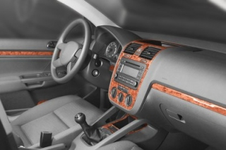 VW Golf Plus Mk5 Dash Trim Kit 3M 3D 16-Parts