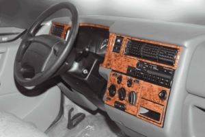 VW T4  Dash Trim Kit 3M 3D 20-Parts