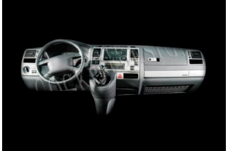 VW T5 Transporter-Caravelle Climatronic Dash Trim Kit 3M 3D 31-Parts