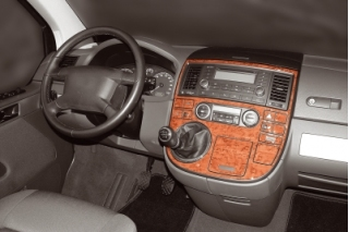 VW T5 Multivan 2003-2010  Dash Trim Kit 3M 3D 22-Parts