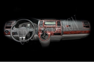 VW T5 VW T6 Caravelle Climatronic 2010+ Dash Trim Kit 3M 3D 37-Parts