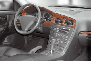 Volvo S60  Dash Trim Kit 3M 3D 8-Parts