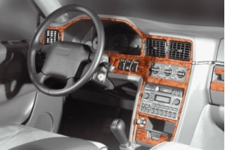Volvo S90/V90  Dash Trim Kit 3M 3D 17-Parts