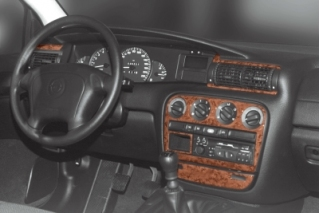 Opel Omega B Dash Trim Kit 3M 3D 7-Parts