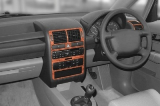 RHD Audi A2   Dash Trim Kit 3M 3D 8-Parts