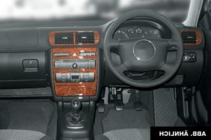 RHD Audi A3 8P Dash Trim Kit 3M 3D 7-Parts