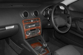 RHD Audi A3 8PA Dash Trim Kit 3M 3D 7-Parts