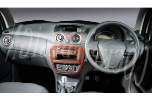RHD Citroen C3 Mk2 Dash Trim Kit 3M 3D 11-Parts