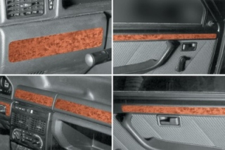 RHD Fiat Uno  Dash Trim Kit 3M 3D 8-Parts