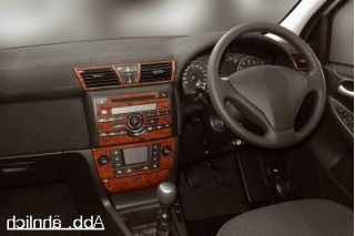 RHD Fiat Stilo  Dash Trim Kit 3M 3D 13-Parts