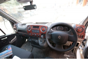 RHD Vauxhall Movano MK3 2010 up Dash Trim Kit 3M 3D 23-Parts