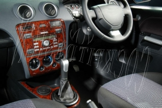 RHD Ford Fiesta Mk5 Dash Trim Kit 3M 3D 7-Parts