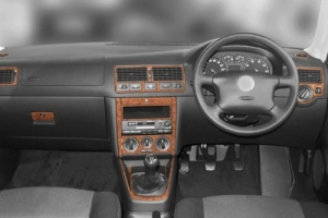 RHD VW Golf Mk4 Dash Trim Kit 3M 3D 19-Parts