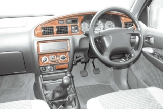 RHD Ford Ranger Mk1 Dash Trim Kit 3M 3D 12-Parts