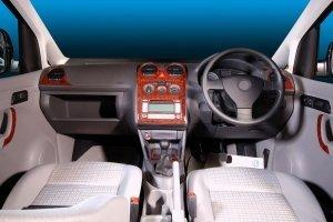 RHD VW CADDY Mk3 Facelift 2010+2K Dash Trim Kit 3M 3D 15-Parts