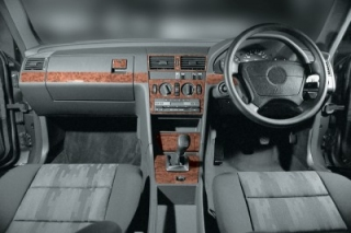 RHD Mercedes C W202 06.93 - 09.95 Dash Trim Kit 3M 3D 16-Parts