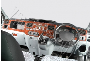 RHD Ford Transit Mk7 Dash Trim Kit 3M 3D 24-Parts