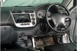 RHD Honda Civic Mk7 Dash Trim Kit 3M 3D 10-Parts