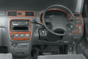 RHD Honda CR-V Mk1 Dash Trim Kit 3M 3D 9-Parts