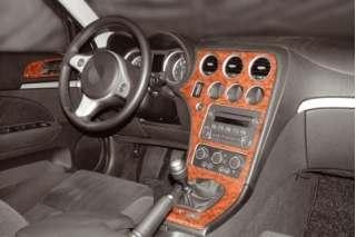 Alfa Romeo 159   Dash Trim Kit 3M 3D 8-Parts