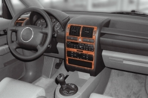 Audi A2   Dash Trim Kit 3M 3D 8-Parts