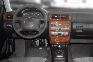 Audi A3 8P Dash Trim Kit 3M 3D 7-Parts