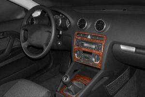 Audi A3 8PA Dash Trim Kit 3M 3D 7-Parts