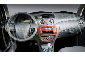 Citroen C3 Mk2 Dash Trim Kit 3M 3D 11-Parts