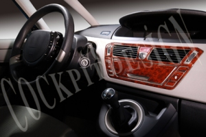 Citroen C4 Picasso Mk1 Dash Trim Kit 3M 3D 9-Parts