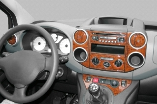 Citroen Berlingo Mk2 Dash Trim Kit 3M 3D 40-Parts