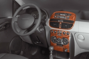 Fiat Punto Mk2 Dash Trim Kit 3M 3D 9-Parts