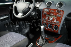 Ford Fiesta Mk5 Dash Trim Kit 3M 3D 7-Parts