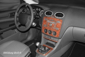 Ford Focus Mk3 Dash Trim Kit 3M 3D 10-Parts