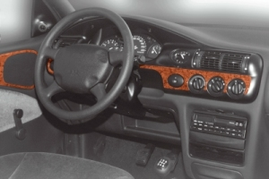 Ford Escort Mk7 Dash Trim Kit 3M 3D 12-Parts