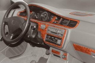 Honda Civic Mk5 Dash Trim Kit 3M 3D 14-Parts