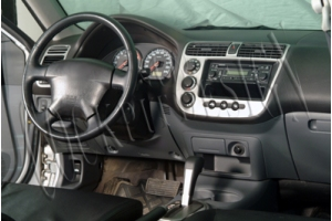 Honda Civic Mk7 Dash Trim Kit 3M 3D 10-Parts