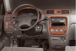 Honda CR-V Mk1 Dash Trim Kit 3M 3D 9-Parts