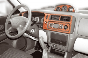 Mitsubishi Pajero Sport Mk2 Dash Trim Kit 3M 3D 9-Parts