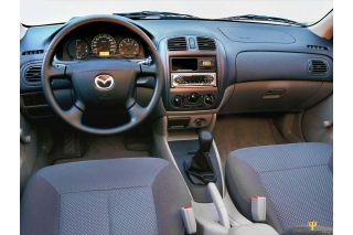 Mazda 323 BJ Dash Trim Kit 3M 3D 8-Parts
