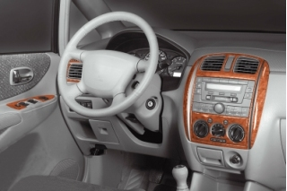 Mazda 5 Mk1 Dash Trim Kit 3M 3D 13-Parts