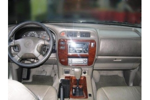 Nissan Patrol Mk5 Dash Trim Kit 3M 3D 8-Parts